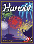 Portada del juego de mesa Hanabi