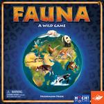 Portada del juego de mesa Fauna