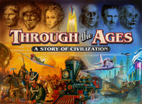 Portada de Through the ages, el juego de mesa