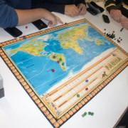 Tablero del juego de mesa Fauna