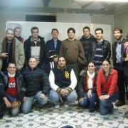 Foto del grupo de personas que acudió al taller