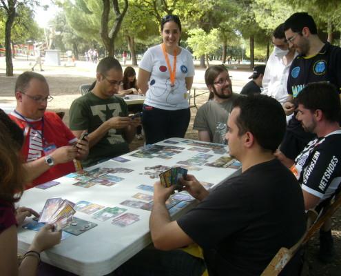 Transcurso del torneo del juego de mesa 7 Wonders