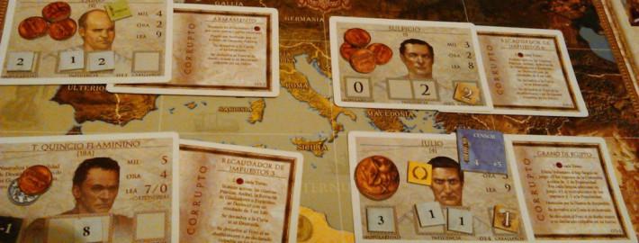 República de Roma, juego de mesa