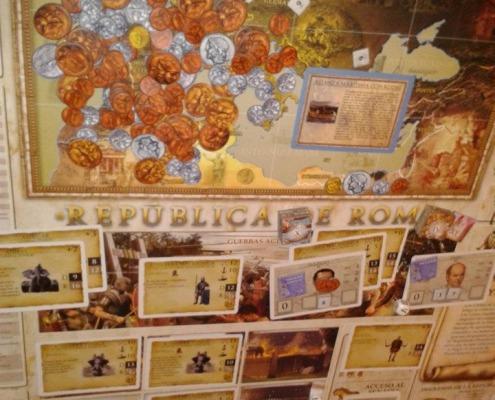 República de Roma, juego de mesa.