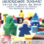 Editoriales de juegos de mesa colaboradoras en las «V Jornadas ¡Queremos Jugar!». Dos Hermanas (Sevilla)