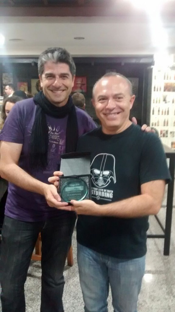 Paco Ronco, doble campeón de la Liga Twilight Struggle