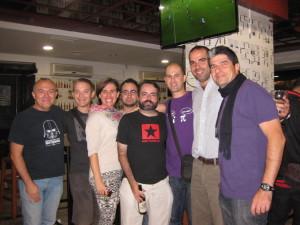 Participantes de la II Liga de Twilight Struggle y uno o dos espontáneos.