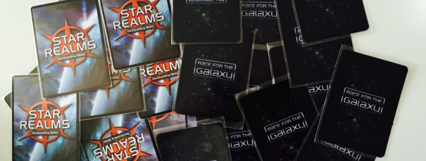 Cartas Star Realms y Race For The Galaxy