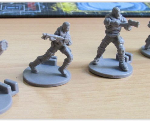 XCOM: El juego de tablero Miniaturas de tropas