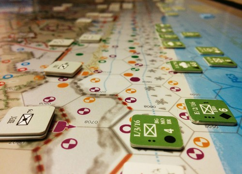 D-Day at Omaha Beach, Decision Games (imagen cortesía de Nathan Leavitt).