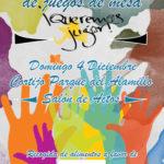 Mercadillo Solidario Queremos Jugar 2016. 4 Diciembre