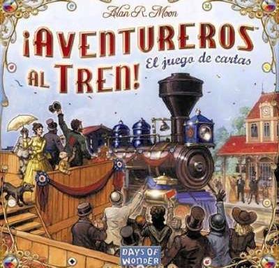 Aventureros al tren: Juego de Cartas