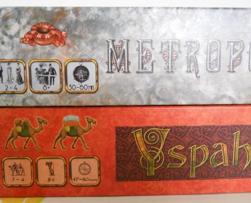 iconos de Metropolys y Yspahan, juegos de Pauchon