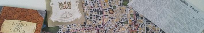 El mapa, la guía, los periódicos...